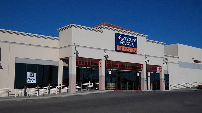 Furniture Factory Warehouse. 655 Sunland Park Dr, El Paso, TX 79912. Texas