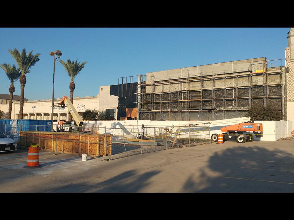 Old Navy Facade Renovation Gibson Commercial Construction