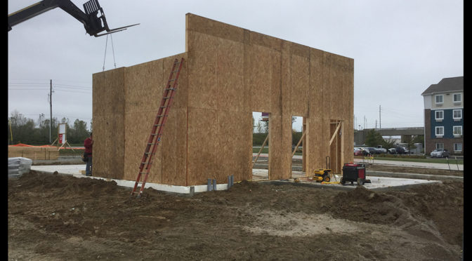 Gibson Commercial Construction working with Tim Horton's on first Indianapolis location